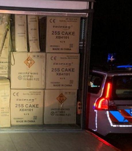 Burgemeester waarschuwt na vondst van duizenden kilo's vuurwerk