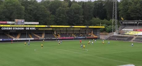 Nieuwe hoofdtrainer Ernie Brandts ziet FC Eindhoven verliezen bij VVV-Venlo