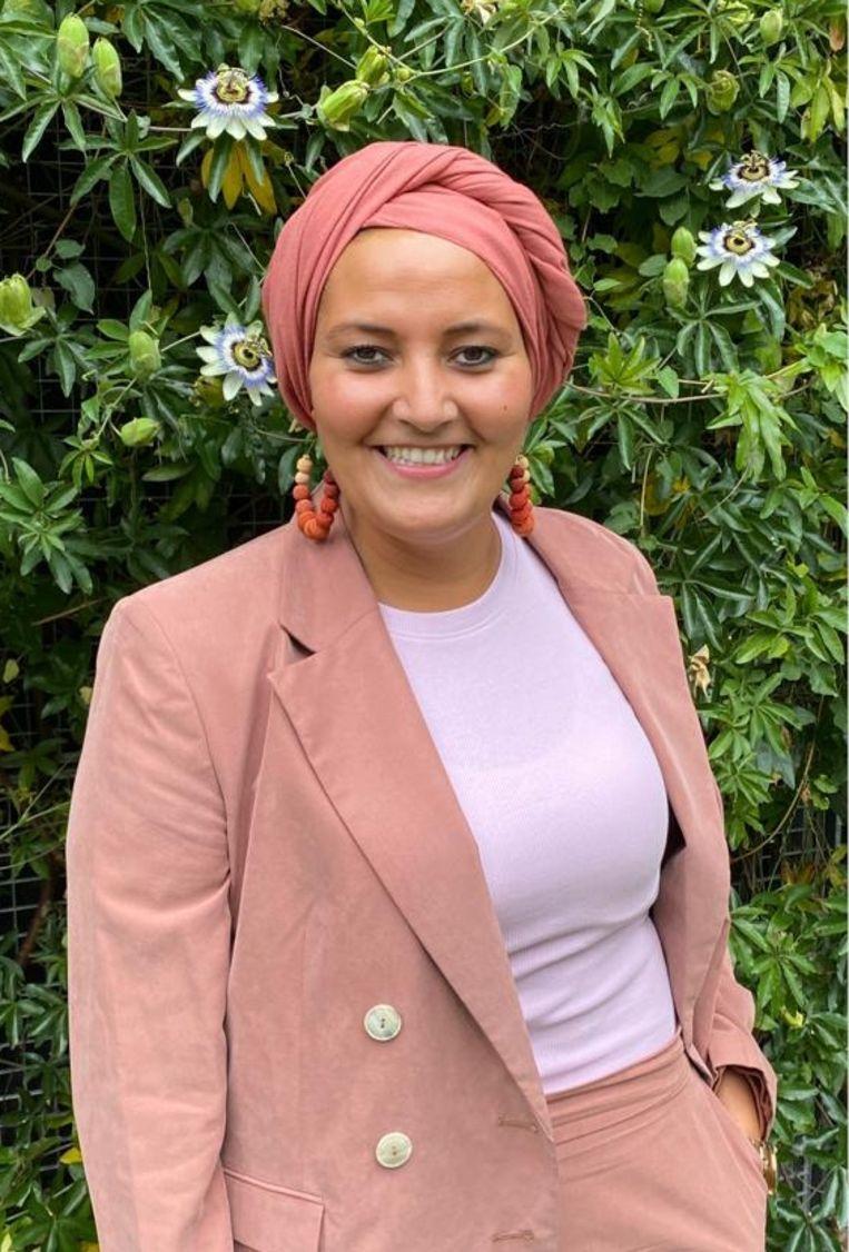Laila Zaimi (kleuteronderwijzeres): 'Bij mijn sollicitatie vroegen ze of ik als poetsvrouw of islamleerkracht kwam.' Beeld