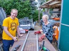 Corsobuurtschap Hazestraat in Valkenswaard verbetert veiligheid in bouwtent