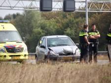 Auto rijdt door na aanrijding op A58 bij Gilze, politie zoekt doorrijder