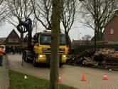 Brandbaar materiaal Wijk en Aalburg opgeruimd