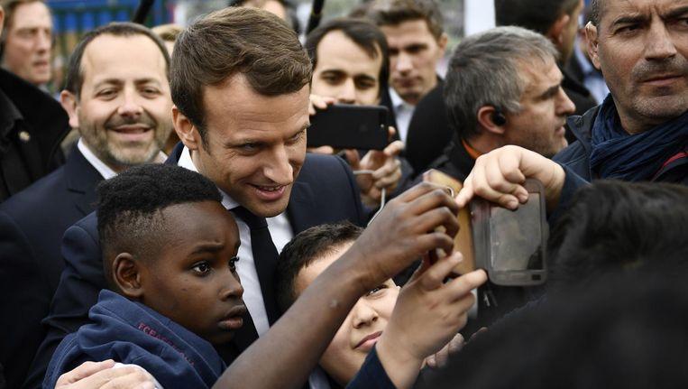 Emmanuel Macron, Frankrijk Beeld ap