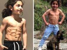 À 6 ans, Arat et ses abdos incroyables impressionnent Lionel Messi
