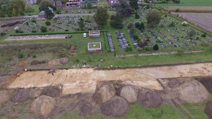 Romeinse nederzetting gevonden aan kerkhof Drongen