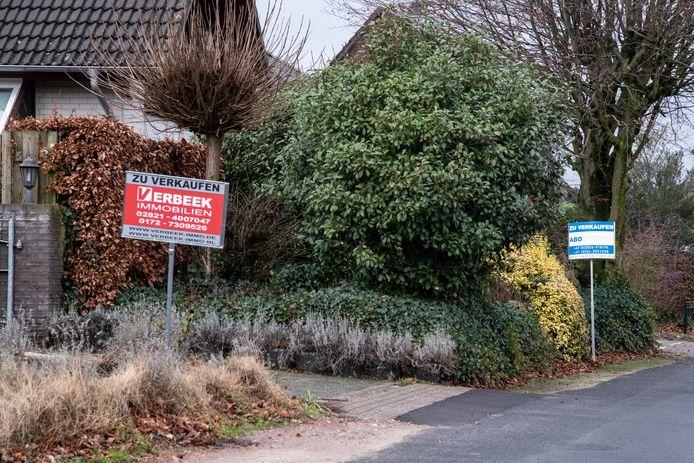 De huizen in de regio Kleef zijn aanzienlijk goedkoper.
