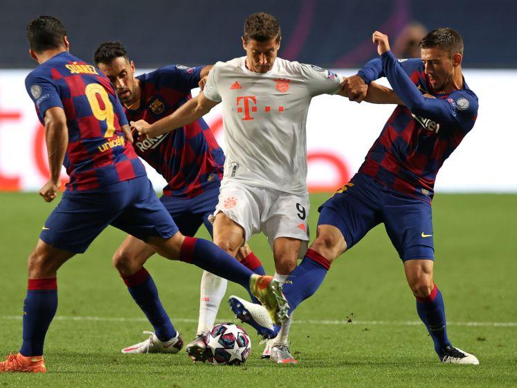 Zo bezorgde Bayern Messi en co een historische nederlaag