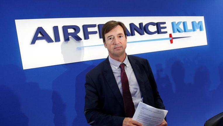 Frank Terner, ceo van Air France Beeld reuters