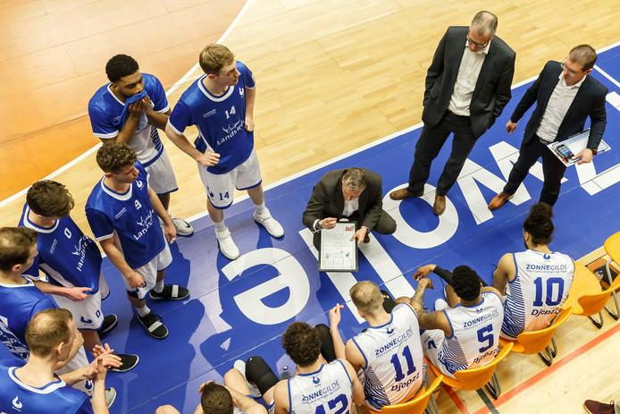 Landstede Basketbal begint het seizoen in eigen huis met de strijd om de Supercup.