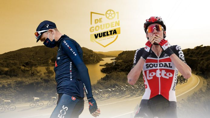 Chris Froome en Tim Wellens waren elk op hun eigen manier opvallende uitschieters tijdens deze Vuelta