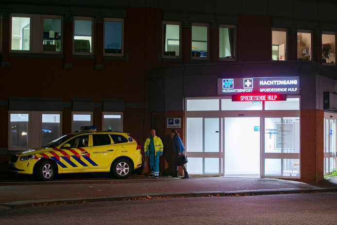 De spoedeisende hulp in het ziekenhuis van Lelystad.