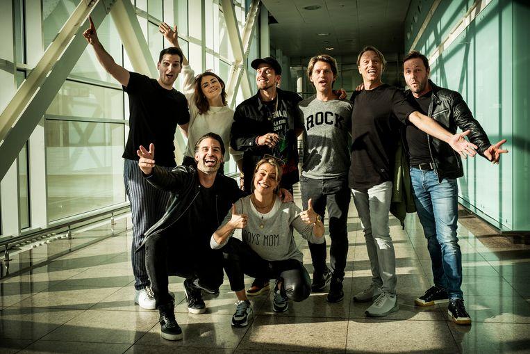 De deelnemers van het zesde seizoen: The Starlings (Tom Dice en Kato Callebaut), Sean Dhondt, Karen Damen, André Hazes, Gene Thomas, Regi Penxten en Peter Van Laet.