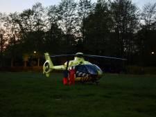 Traumaheli landt derde keer in week tijd in Schijndel voor medische assistentie