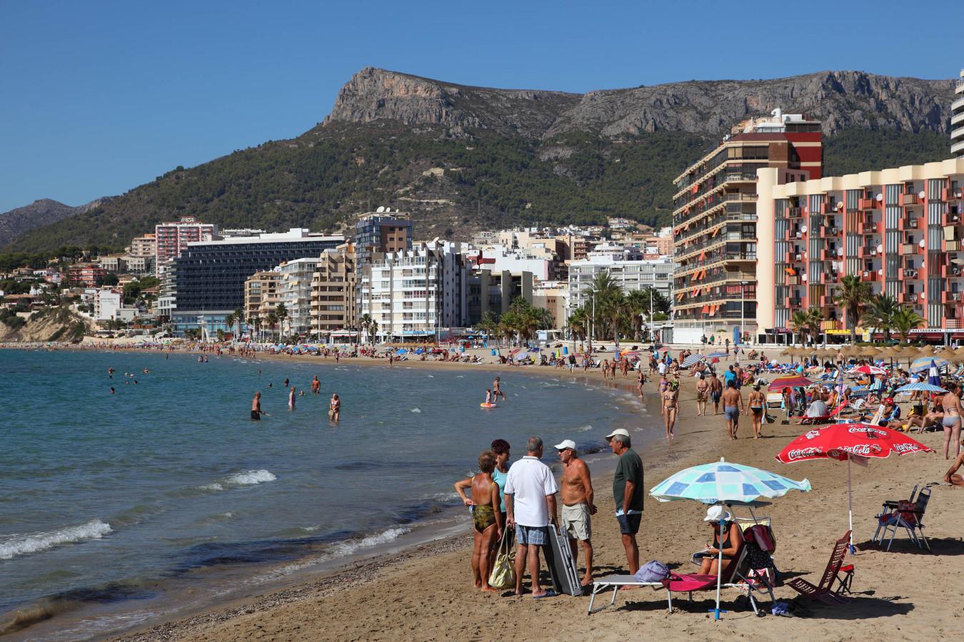 Calpe aan de Spaanse kust. Veel Nederlandse en Belgische gepensioneerden overwinteren er graag.