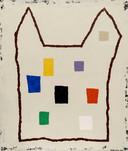 Het werk 'Kasteel met abstracte ramen' uit 2014, van Harrie Gerritz.