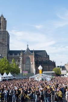 Bekerfinale rustig verlopen in Arnhem: feestvreugde overheerst