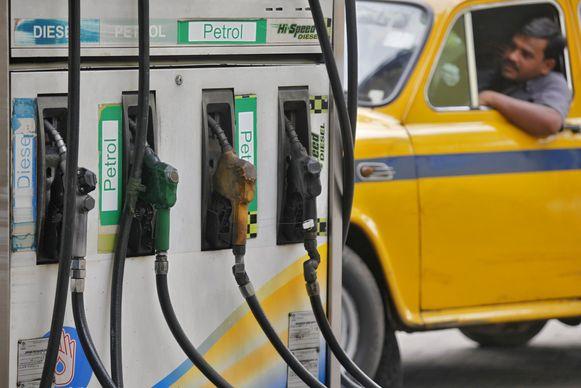 Een taxichauffeur in India, beeld ter illustratie.