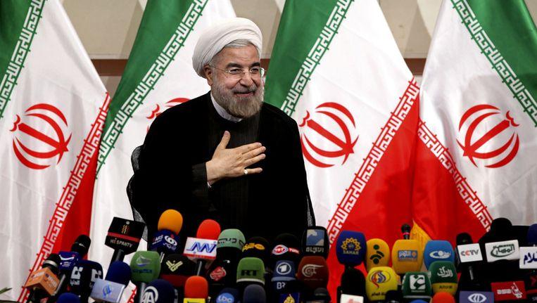 Hasan Rouhani Beeld ap