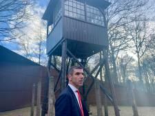 Staatssecretaris Blokhuis bezoekt Kamp Amersfoort