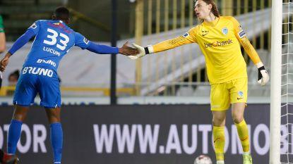 """Groots competitiedebuut van Maarten Vandevoordt (17): """"Of ik ook in Napoli aan de aftrap kom? Dat hoop ik"""""""