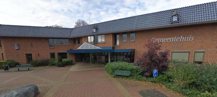 Het gemeentehuis van Zwartewaterland in Hasselt.