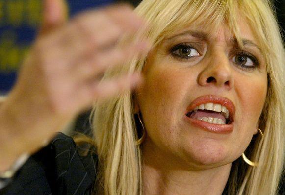 Alessandra Mussolini (archieffoto 2004).