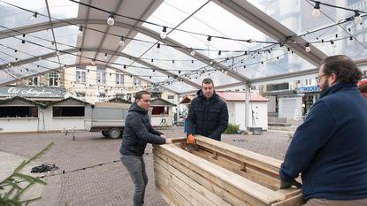 'Egmonts Winterdorp' opent morgen op overdekte Markt