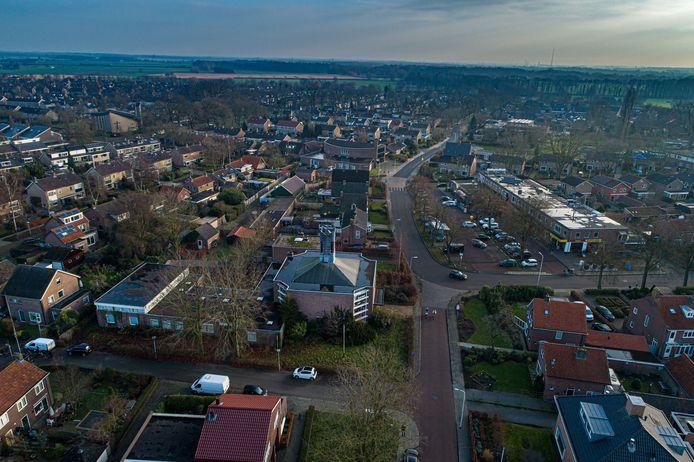 Het centrum van de wijk Berkum.