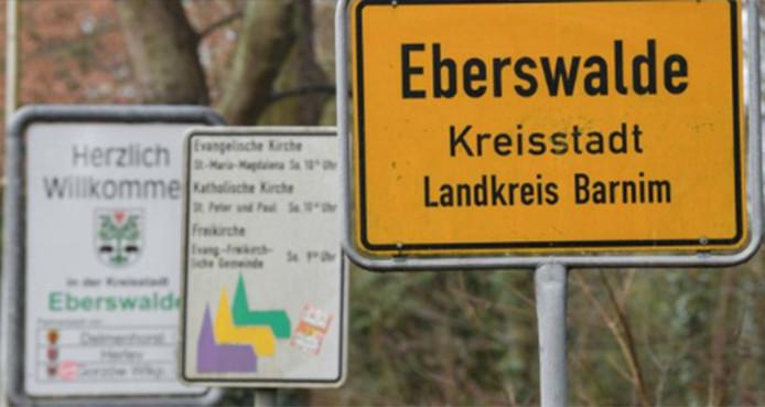L'enfant a été trouvé dans la ville d'Eberswalde