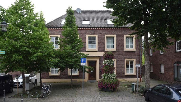 De kliniek Klaus Ross in het Duitse Bruggen-Bacht. Beeld afp