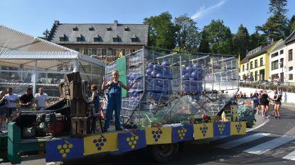 Druivenstoet in Overijse weer het hoogtepunt van de Druivenfeesten
