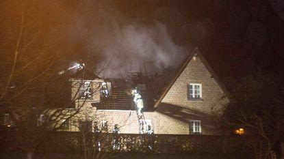 Bewoners horen 'inbrekers'... Het blijkt zware brand te zijn
