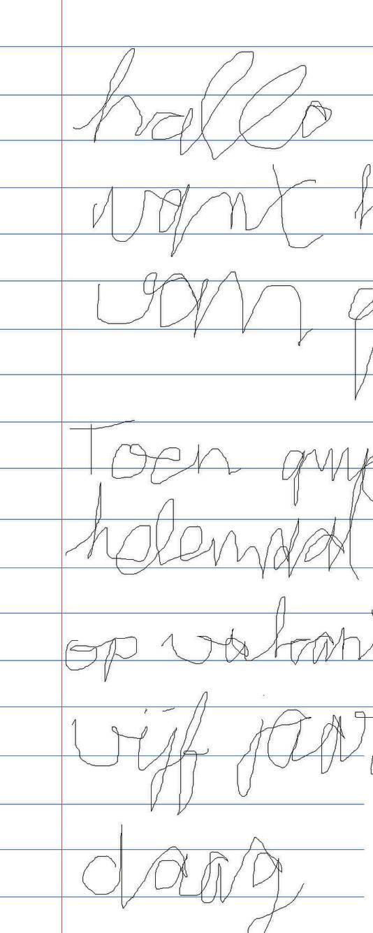 Goede Scholier schrijft belabberd: Leerlingen kunnen eigen handschrift FA-93