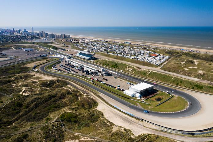 Luchtopname van Circuit Zandvoort.