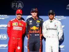 Vettel en Hamilton verbaasd over power Verstappens auto