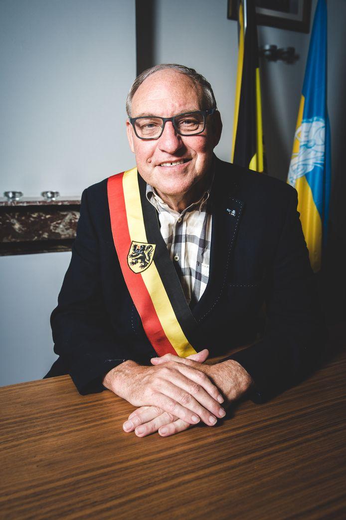 Burgemeester van Wachtebeke Rudy van Cronenburg.