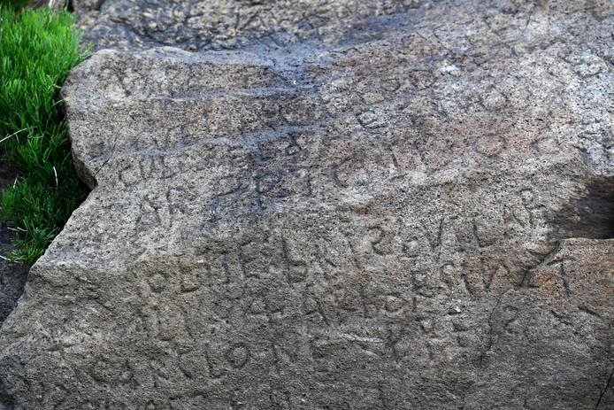 Een mysterieuze boodschap of gewoon de 'handtekening' van een 18de-eeuwse bouwvakker.