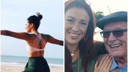 SHOWBITS. Tatyana Beloy doet yoga op het strand en Natalia beleeft een emotionele dag met een oude vriend