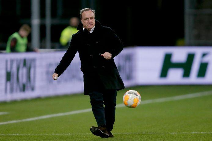 Dick Advocaat tijdens FC Utrecht - Excelsior.