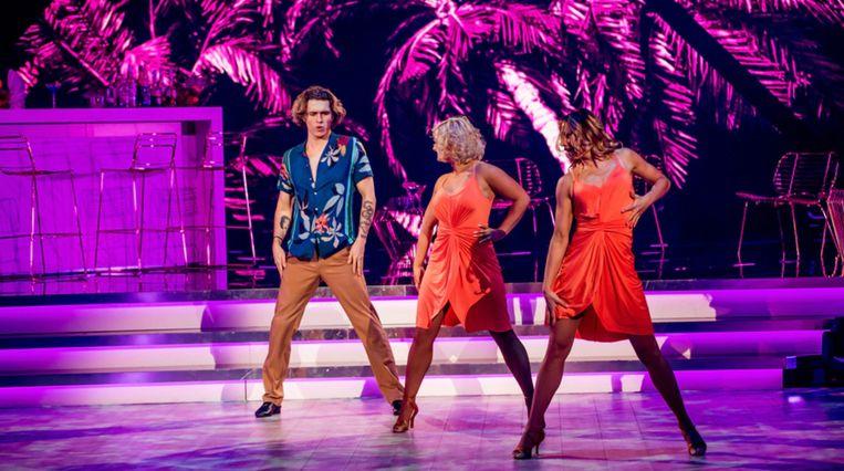 Ian Thomas danste vanavond met twee danspartners.