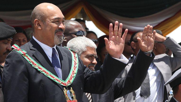 Het Comité Herdenking Slachtoffers Suriname geen prijs te stellen op een vertegenwoordiging van Desi Bouterse. Foto ANP Beeld