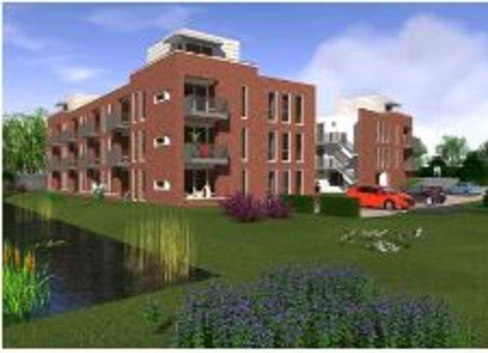 Zo gaat het appartementencomplex Moye Keene in Klundert eruit zien.
