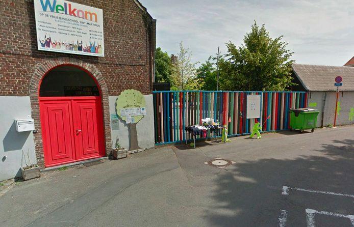 Zowel de kleuterafdeling van de hoofdschool (foto) als de wijkafdeling ''t Klein Schooltje zijn gesloten.