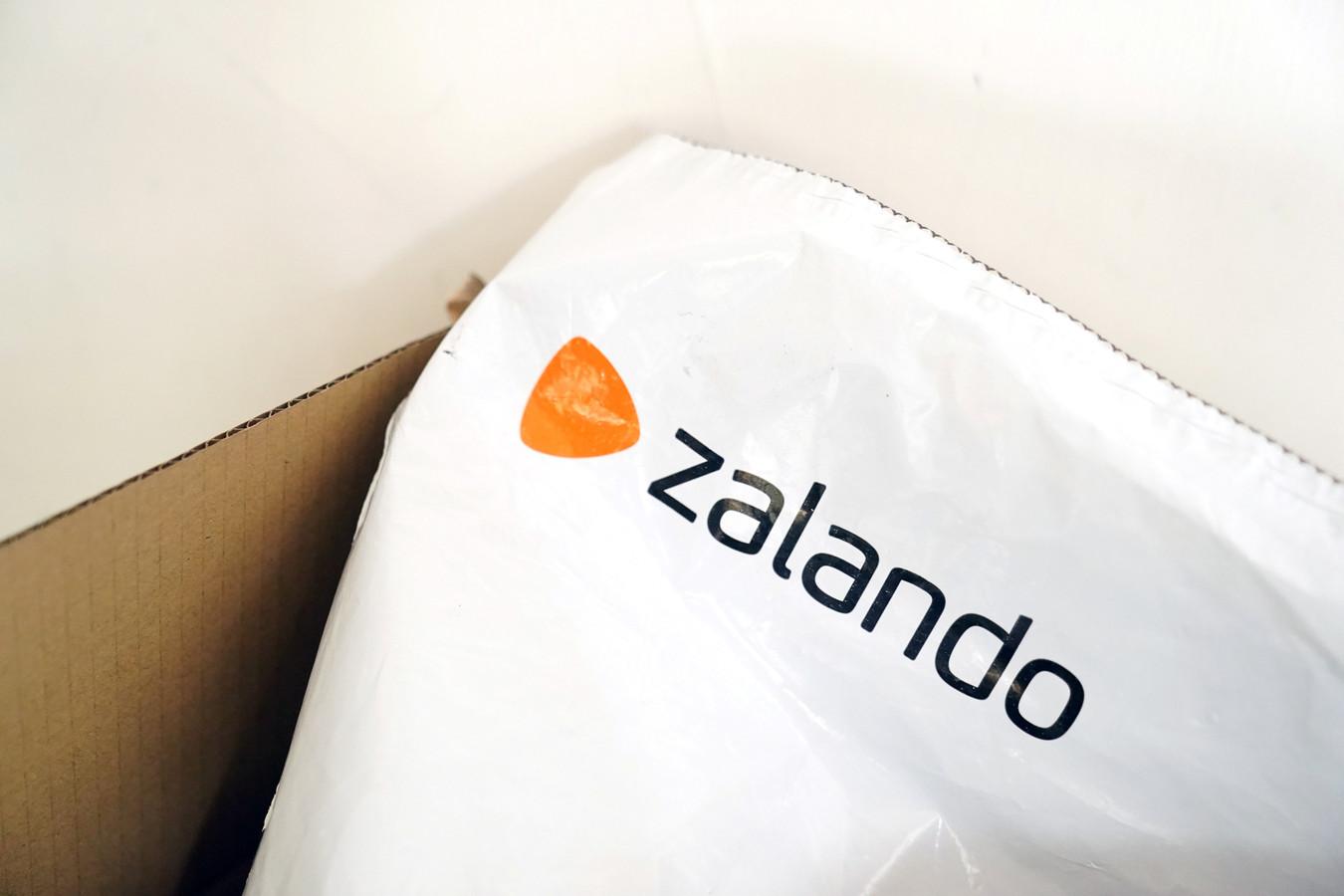 Verpakking van Zalando.