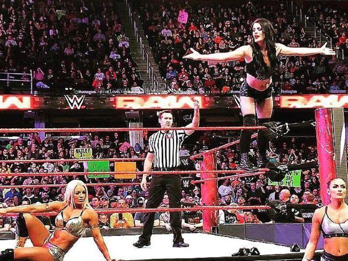 Paige maakt het voorbije week haar rentree in de ring.
