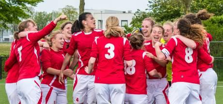 Grootste overwinning van het seizoen voor vrouwen van SC 't Zand