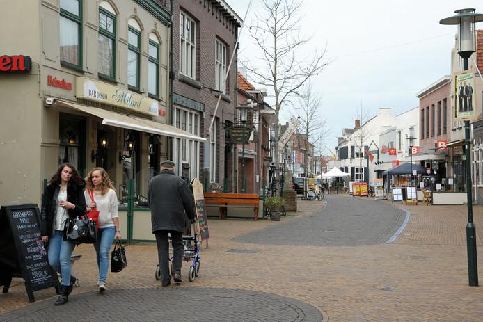 De Noordstraat in Axel.