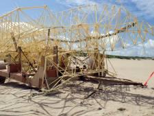 Strandbeest schittert binnenkort in Gemeentemuseum