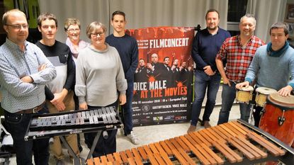 Vermaak Na Arbeid strikt Voice Male voor filmconcert