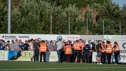 Club Brugge en KV Mechelen spelen gelijk, fans gaan met elkaar op de vuist